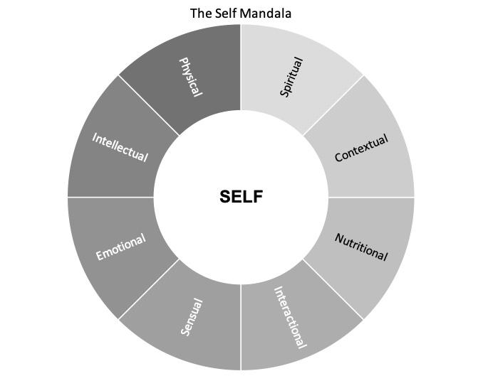 Illustration of Satir Self Mandala